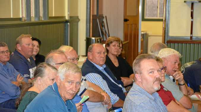 Jason Kinsella, Jason Ford and Heath Sander were among the attendees at a meeting between South Burnett Regional Council and local tourism operators, held at Wooroolin Town Hall on December 6.