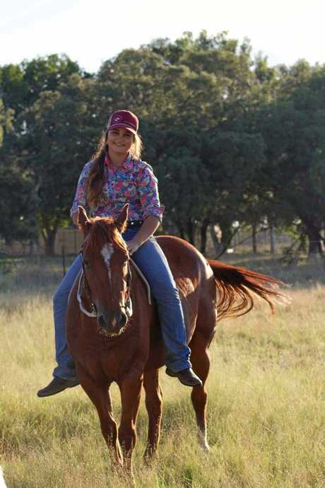 YEAR FOR SUCCESS: Cloe Gribble awarded a scholarship to study at Emerald Agriculture College.
