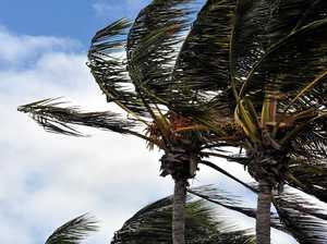 Windy conditions for Mackay coast
