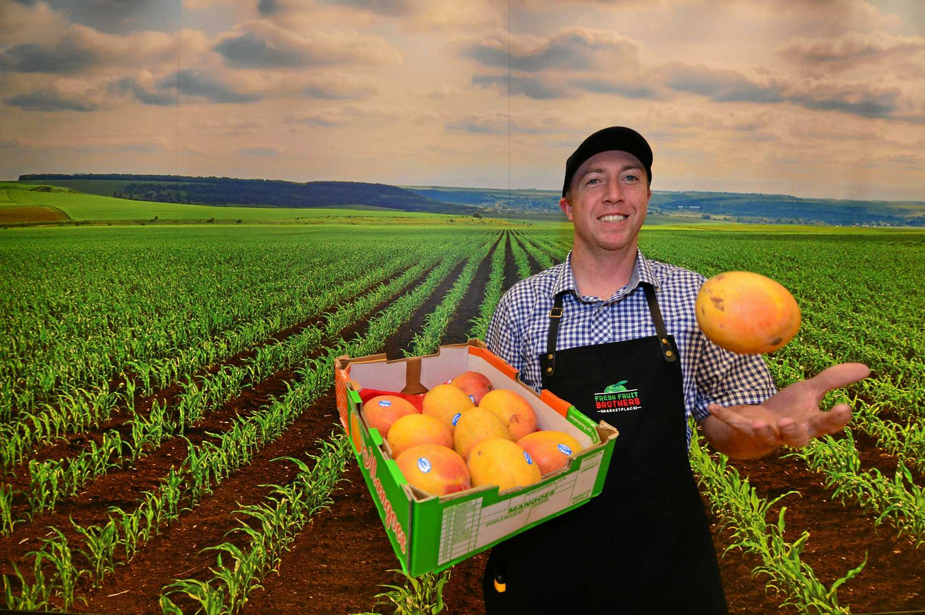 Fresh Food Bros owner Van Roevan.