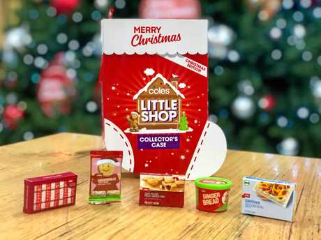 Coles' Christmas Minis launched today.