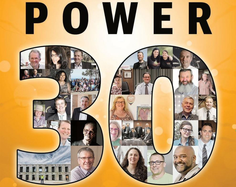POWER 30: Clarence Valley's Most Influential 2018.