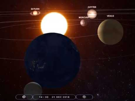 'Quake mystic' Frank Hoogerbeets says a rare planetary alignment on December 21 could trigger a monster earthquake. Picture: YouTube/Ditrianum