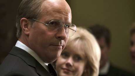 Christian Bale as Dick Cheney and Amy Adams as Lynne Cheney in a scene from Vice. Picture: Matt Kennedy/Annapurna Pictures