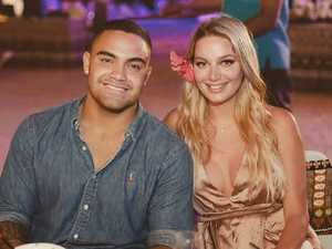 NRL star's fiancee allegedly seen 'cowering'