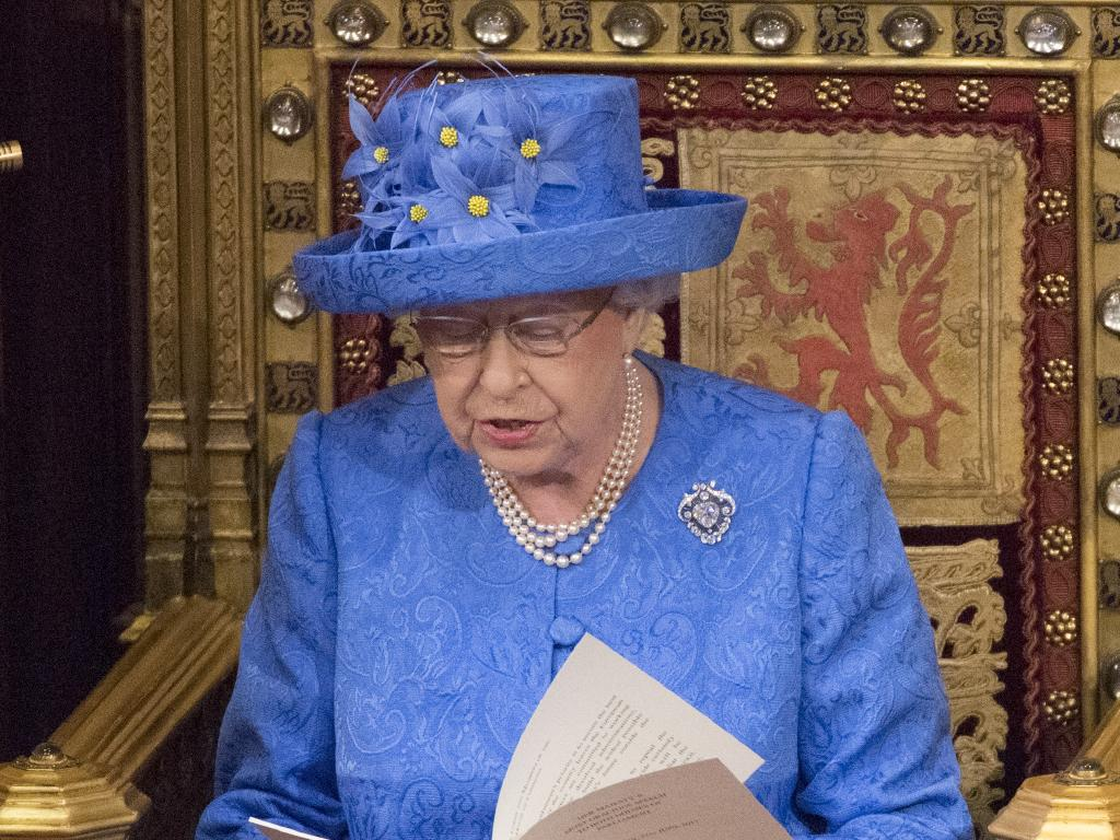 The Queen's role is usually a ceremonial one.