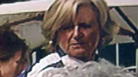 Chris Dawson wrote that he believed this woman was his missing wife Lyn. Picture: BBC
