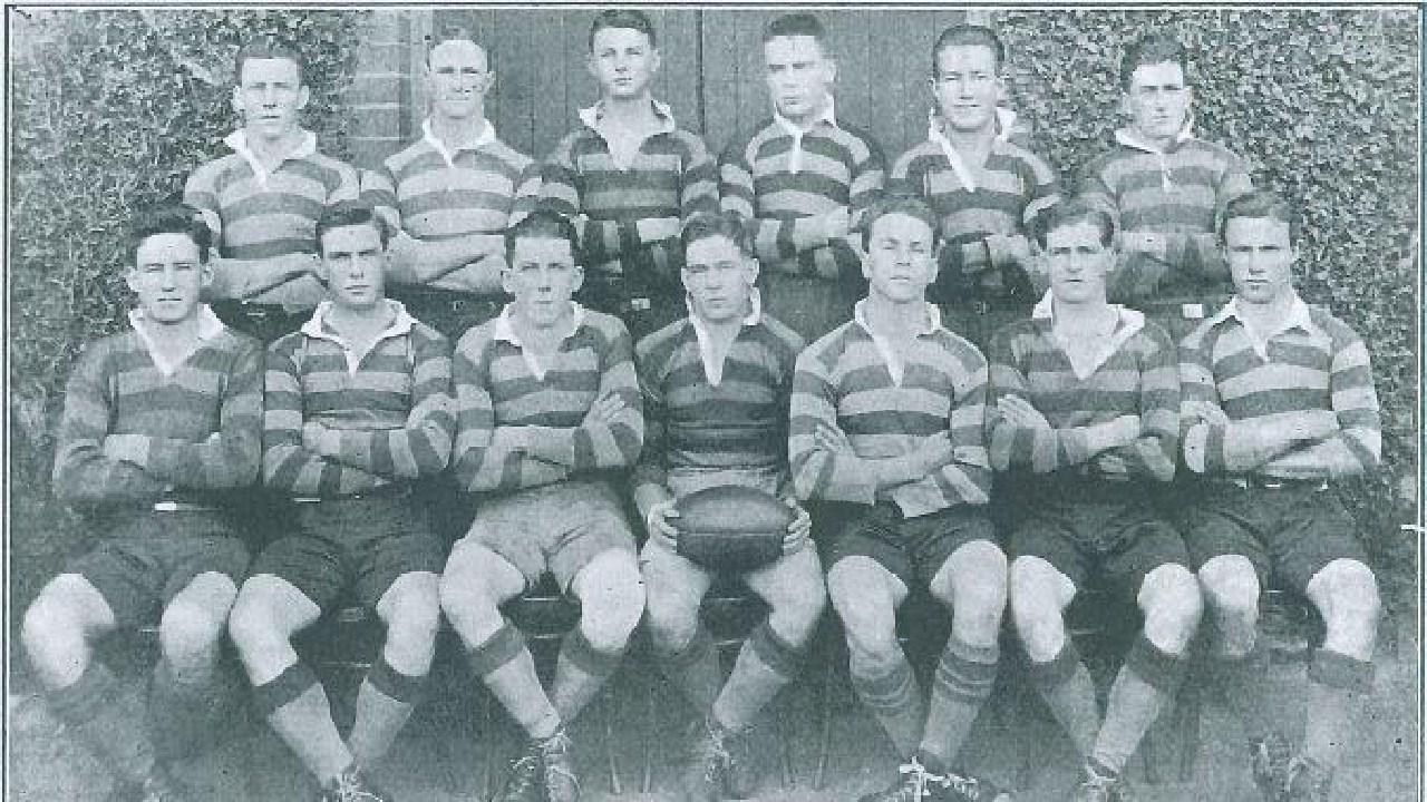 The 19260 Sydney Uni amateur rugby league team.