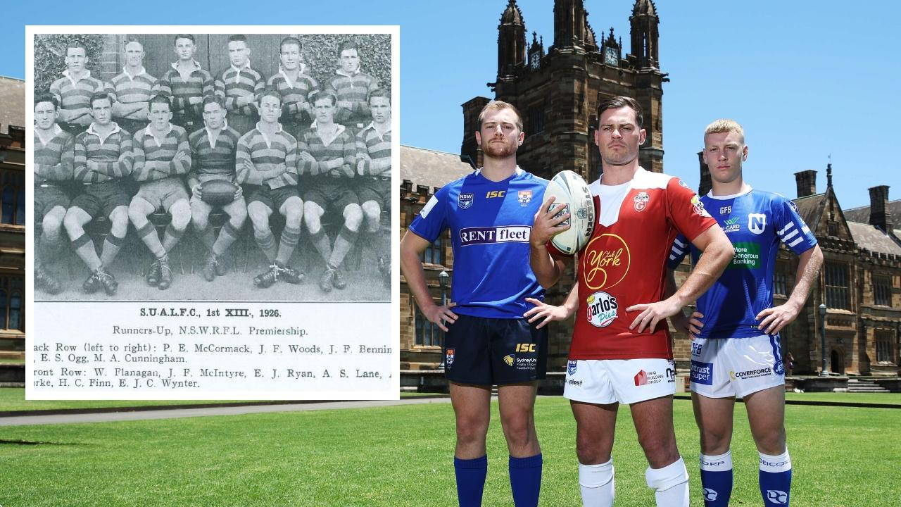 Sydney University are back in rugby league.