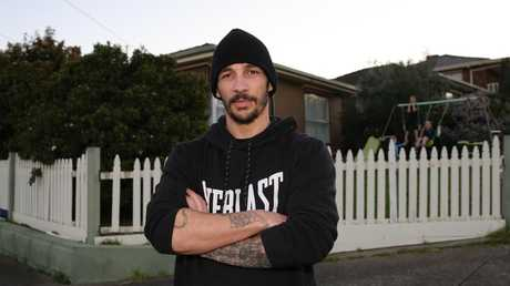 Nick Cross once ran a vigilante group doing patrols of his neighbourhood at night. Picture: Peter Ristevski