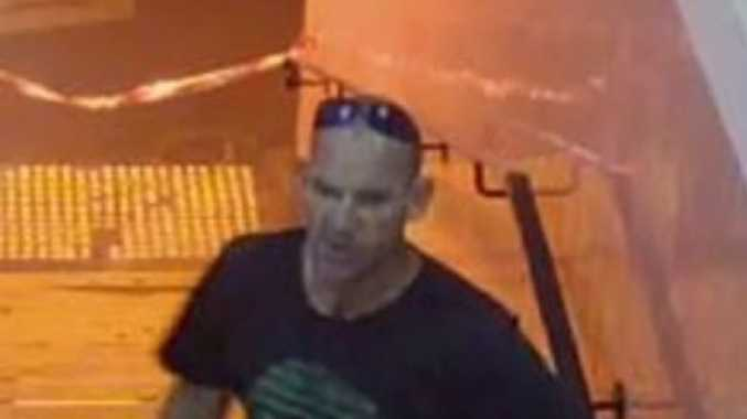 Police are searching for this man who they believe was involved in a sickening attack at a Melbourne train station on Saturday night. Picture: Victoria Police