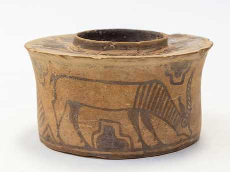 The pot had been used for the last five years as a toothbrush holder. Picture: Hansons