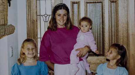Joanne Curtis (above with her daughters and Lynette Dawson's) said ex-husband Chris wanted her to treat them like 'princesses'.
