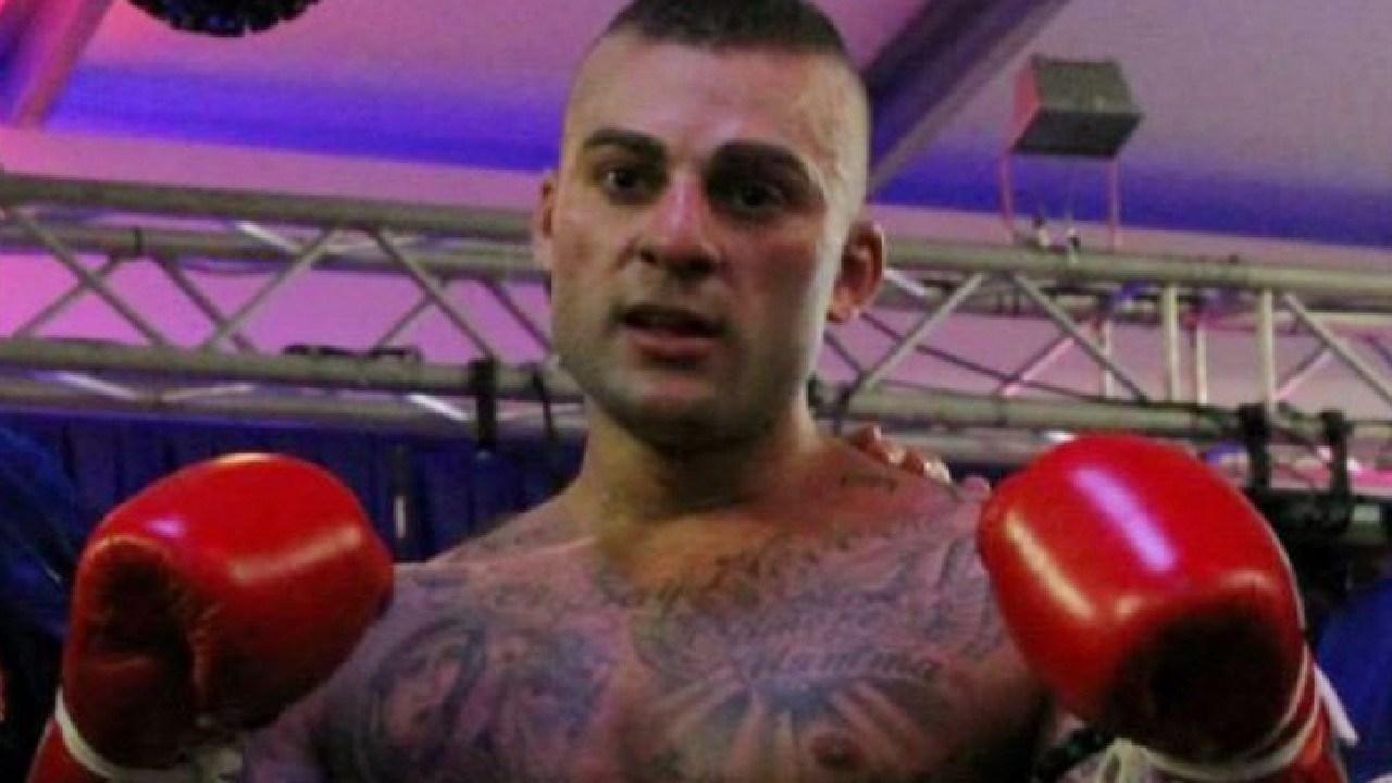 Australian man Antonio Bagnato in the boxing ring. Picture: AAP/Facebook