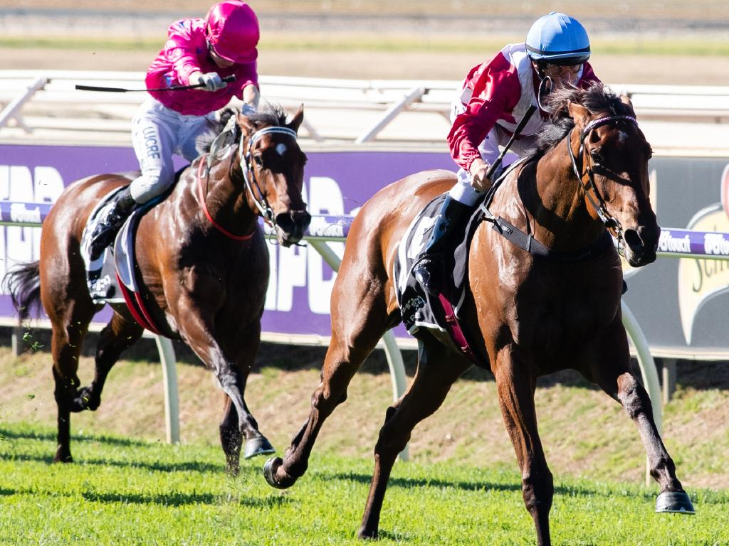 Kingston Town Classic race favourite Arcadia Queen wins the WA Guineas.