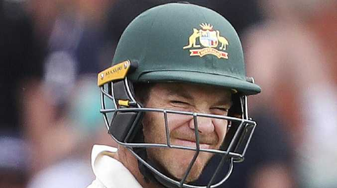 Tim Paine's Australian side have been criticised for their defensive approach. Picture SARAH REED