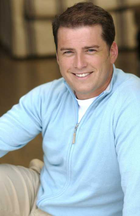 A baby-faced Karl Stefanovic in 2005.