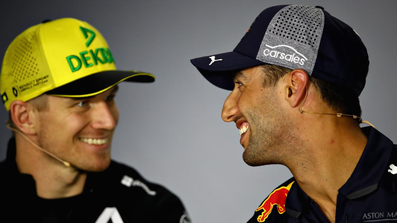 Nico Hulkenberg had fighting words for Daniel Ricciardo.