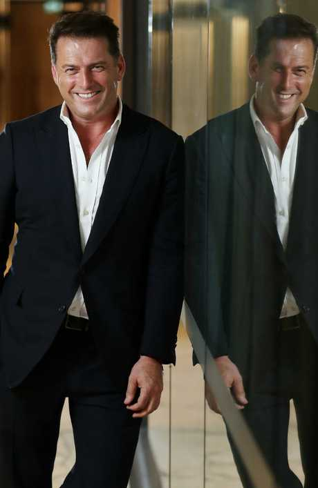 There are two sides to Karl Stefanovic's embattled public image. Picture: Liam Kidston