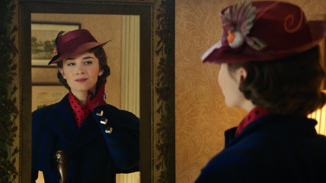Emily Blunt was nominated for a Globe for her leading role in Mary Poppins Returns. Picture: Disney