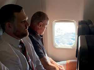 Inside the plane flight with Chris Dawson