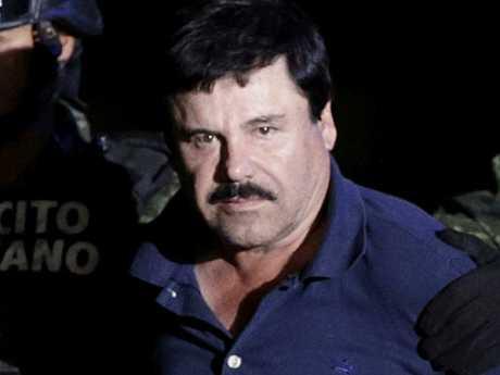 Recaptured drug lord Joaquin
