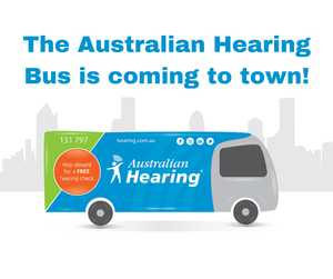 Australian Hearing brings hearing services to the doorstep of Bunnings Warehouse Gympie; offering free hearing checks for all adults.