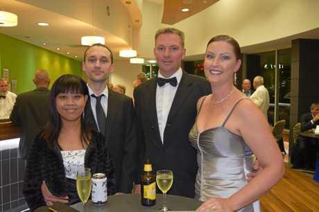 (From left) Kanya Maneenil, Wayne Ross, and Shane and Joanne Waldock.