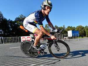 Gruelling feat for Coast triathlete