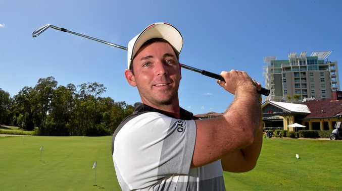 Charlie Dann enjoyed a solid outing during a qualifier for the PGA's Q School tournament at Noosa Springs