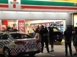 Car ploughs into Gold Coast petrol station