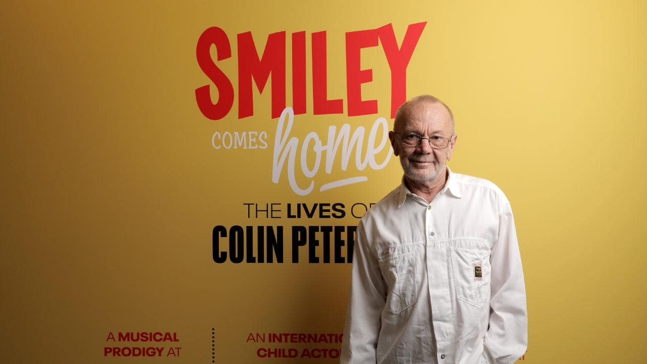 Smiley comes home - the lives of Colin Petersen is on at the Redcliffe Museum until February 7.