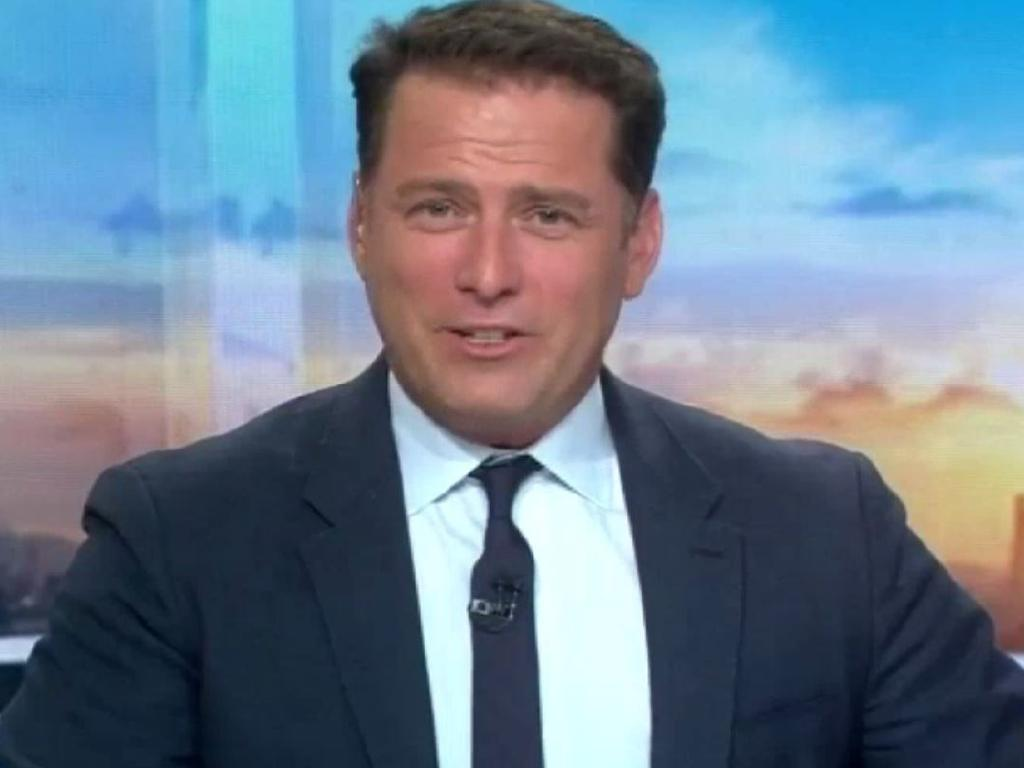 Today Show host, Karl Stefanovic, the day after his co-host Lisa Wilkinson departed channel 9. Picture: Supplied