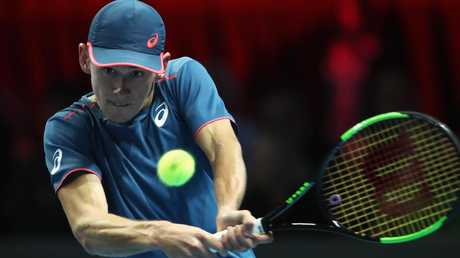 Alex de Minaur is leading a new Australian charge. Picture: Getty Images