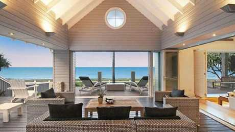 This beachfront home at 9 Hedges Ave, Mermaid Beach, sold for $12m in September.