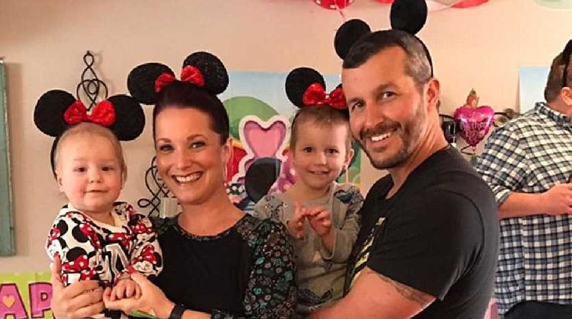 Chris Watts and Shanann Watts and their daughters Celeste and Bella.