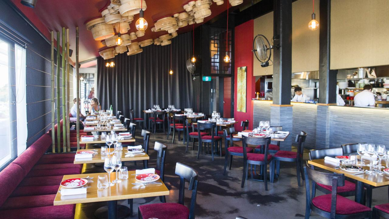 Interior at Spice Bar at Mooloolaba. Photo Lachie