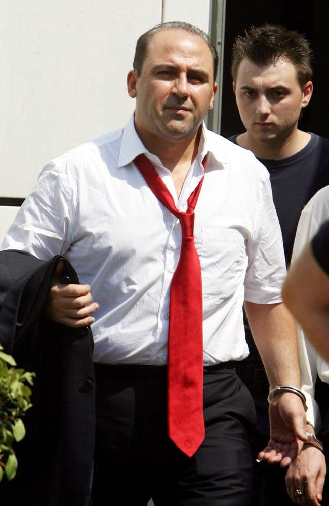 Tony Mokbel never knew the lawyer representing him was working for police. Picture: Thanassis Stavrakis/AP