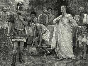 The brutal beheading of Cicero