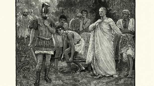 Roman politician Marcus Tullius Cicero was beheaded brutally in 43BC.