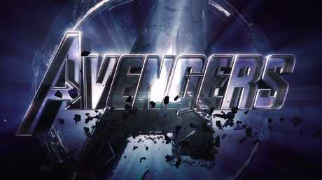 The Avengers logo is formed by dust reintegrating, because all the people who disintegrated will be made whole again — get it!