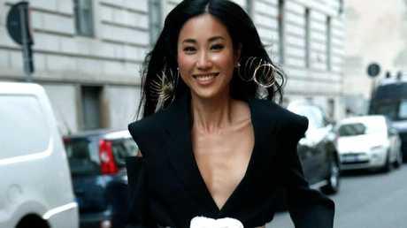 """Jamie"" Qianqian Wu is working with Australian fashion brands Toni Maticevski, Romancewasborn and Zimmerman."