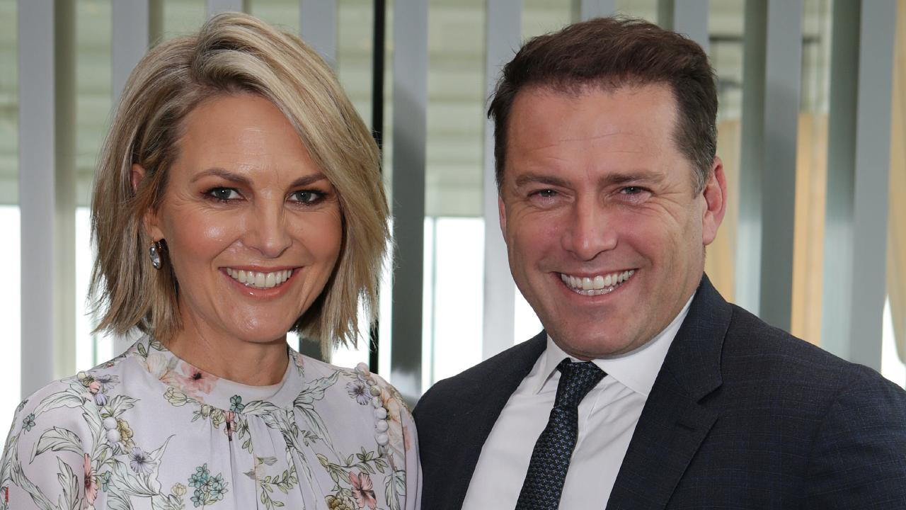 Today Show hosts Karl Stefanovic and Georgie Gardner. Picture Julie Kiriacoudis