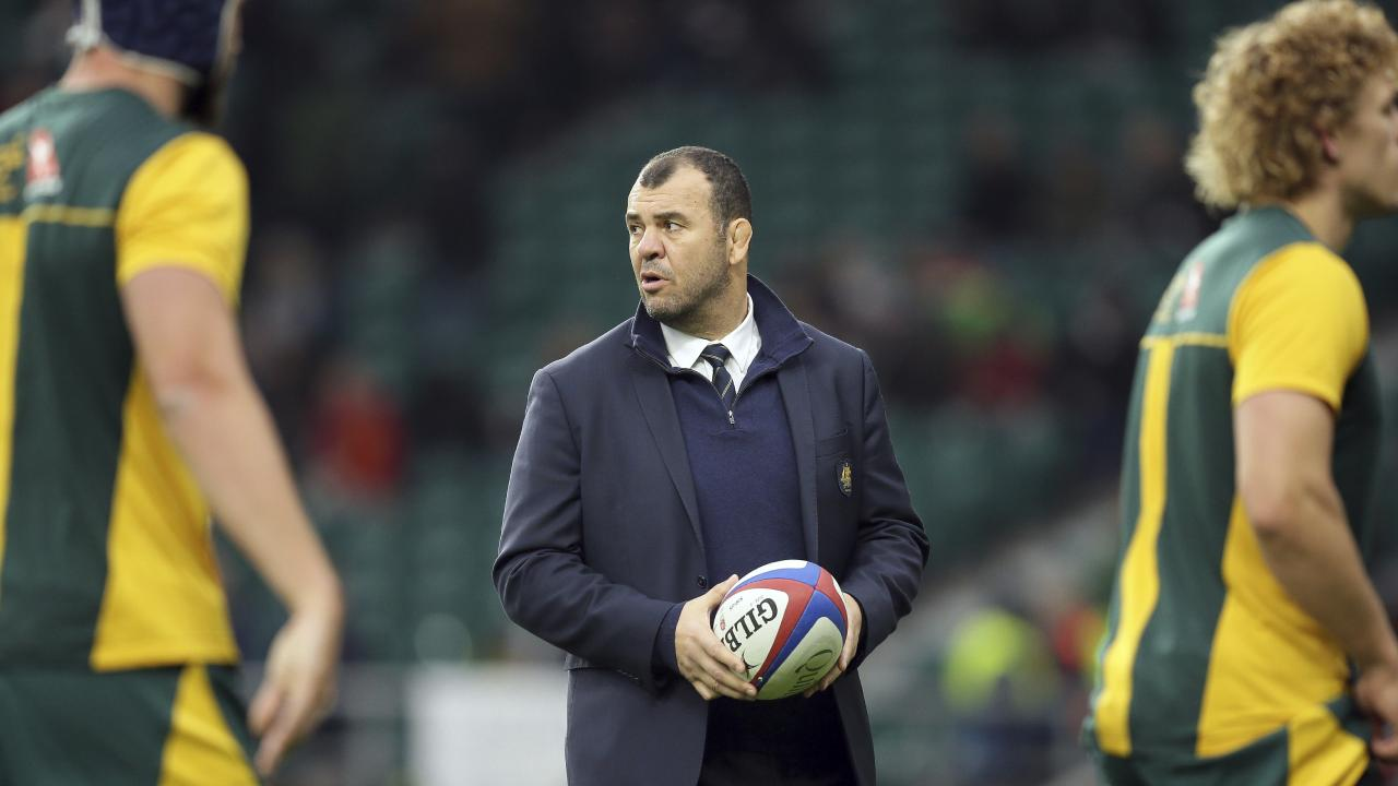 The pressure on Cheika is immense. AP Photo/Tim Ireland.