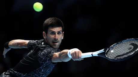 Novak Djokovic is back in a big way. Picture: Julian Finney/Getty