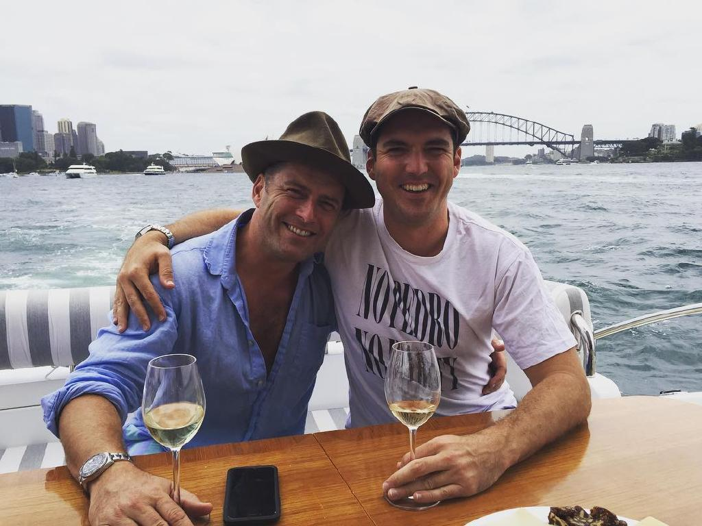 Karl & Peter Stefanovic were deeply apologetic. Picture: Instagram