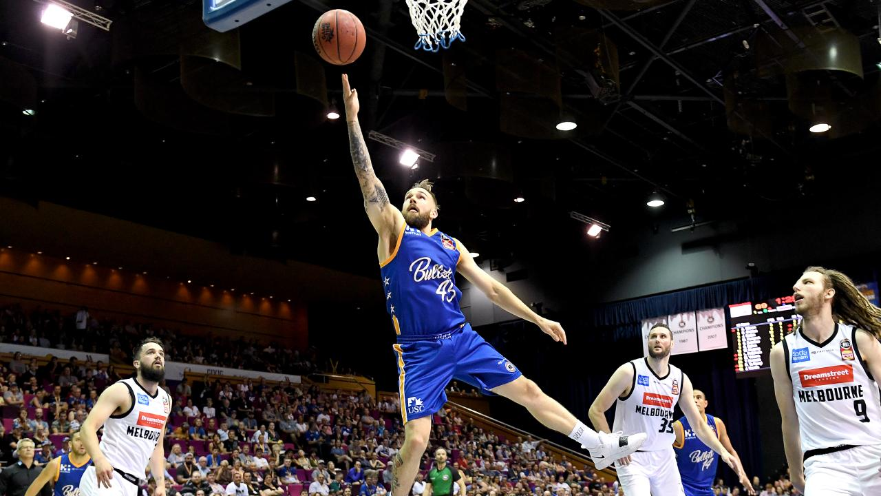 Jeremy Kendle in action for the Bullets on Saturday. Picture: Getty Images
