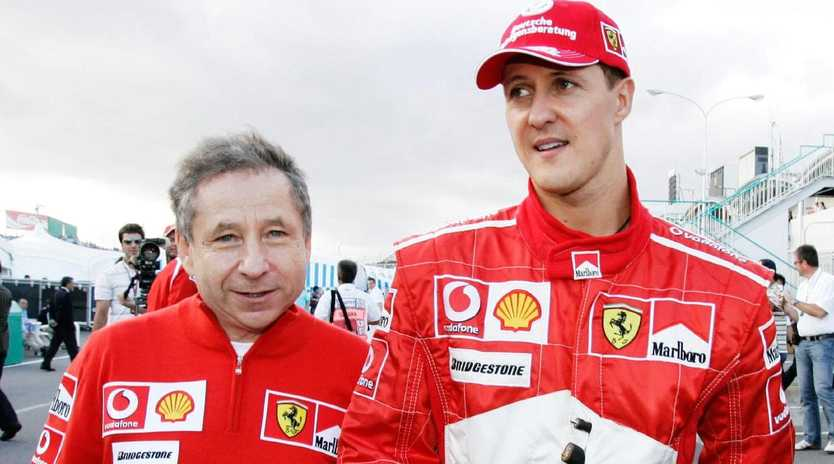 Jean Todt and Michael Schumacher shared plenty of good times.