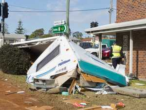 Woman who caused caravan crash chaos jailed