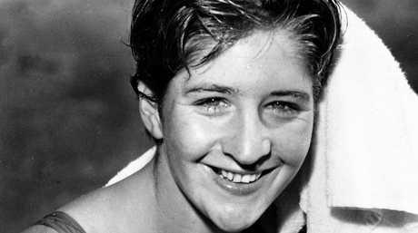LEGEND:  Dawn Fraser pictured in Sydney in 1956.